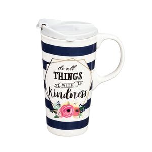 Kindness travel mug