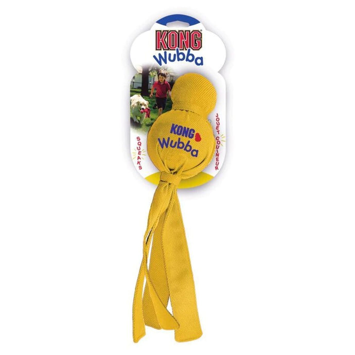 Yellow dog toy