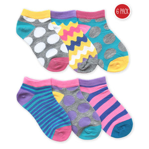 Colorful socks for girls