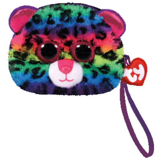 Dotty Leopard coin purse
