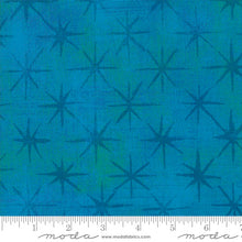 Turquoise Seeing Stars Moda quilt fabric