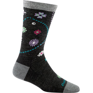 Darn Tough Garden Crew Women's Sock Charcoal