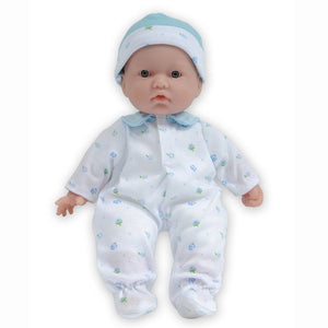 JC Toys La Baby Realistic Baby Doll in Blue 13111