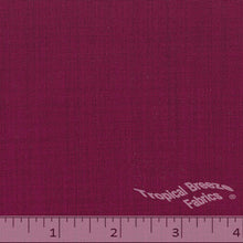 Raspberry color fabric.
