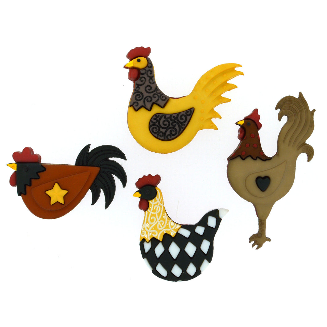 Chicken buttons