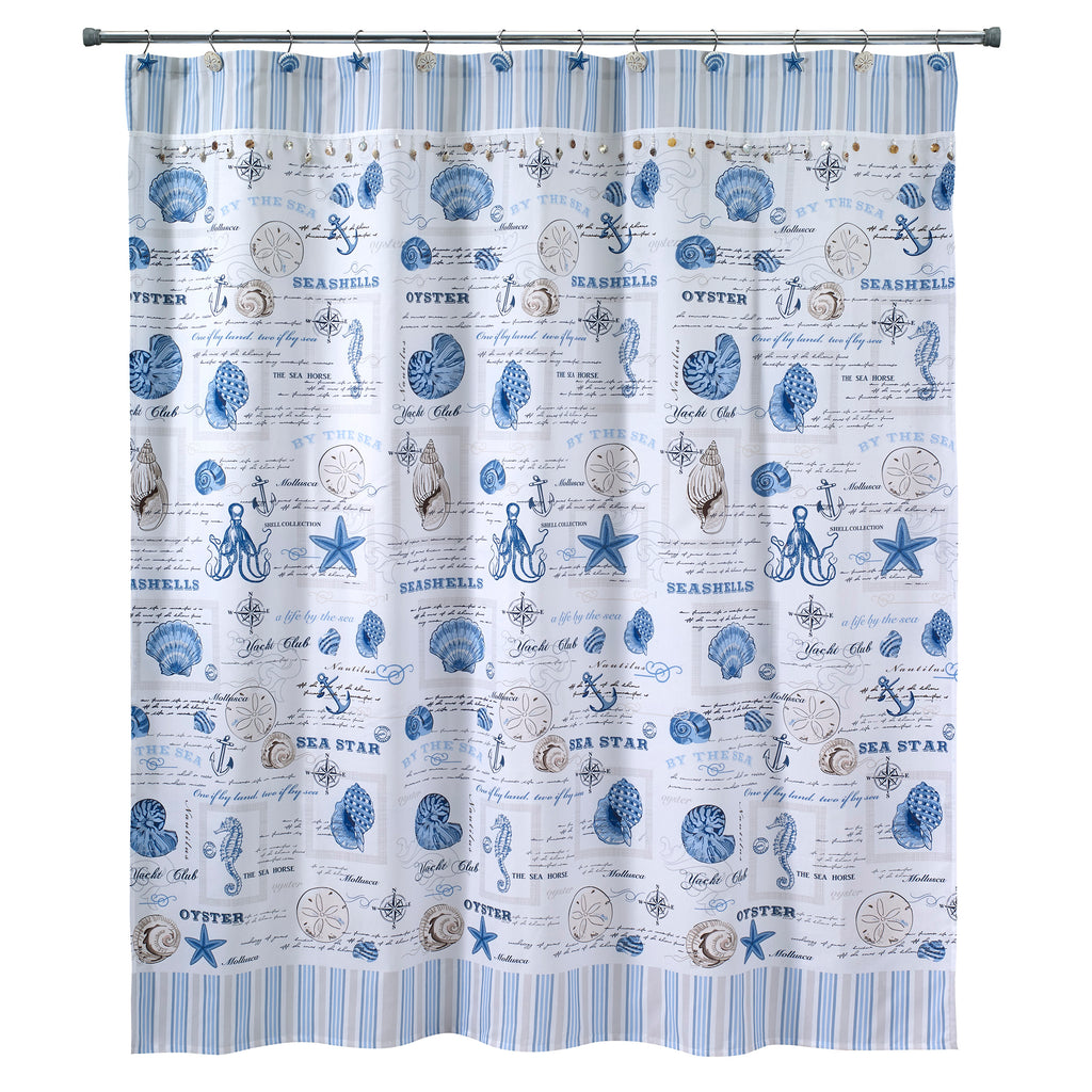 Avanti Linens Island View Shower Curtain 13689h Good S Store Online