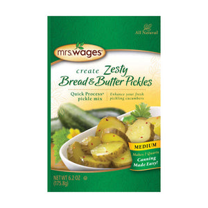 Mrs. Wages Zesty Bread & Butter Pickles Mix