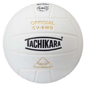 Tachikara White Super Soft volleyball