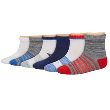Hanes Toddler Boys Ankle Socks 6-pack