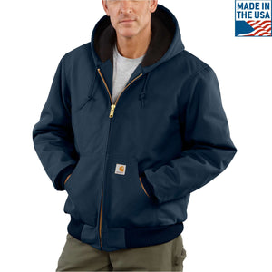 Navy Carhartt coat