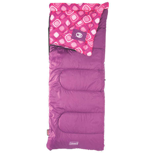 Coleman youth girls sleeping bag