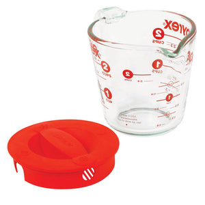 Pyrex 2 Cup Measuring Cup with Lid 1055163