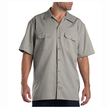 Dickies mens short sleeve shirt Silver