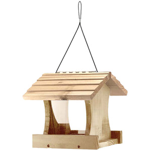 Audubon Small Cedar Bird Feeder