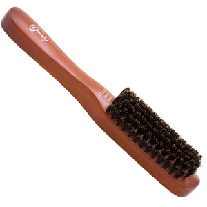 Goody hair brush with wooden handle and boar bristles.