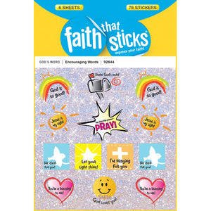 Encouraging Word stickers