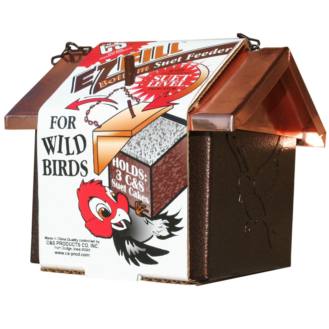 EZ fill bird feeder