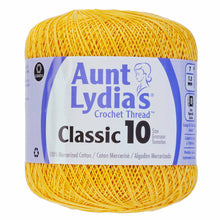 Golden Yellow crochet thread
