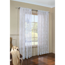 White Lace Curtain Panel.