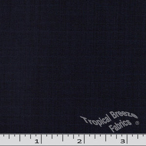 Navy Klara 100% polyester fabric.