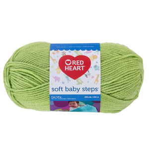 Lime Green Red Heart yarn.