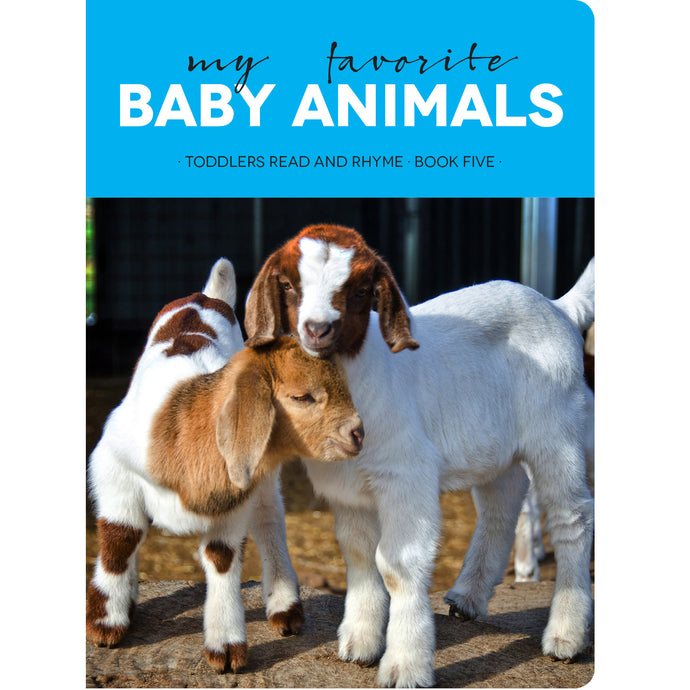 Faith View Creations My Favorite Baby Animals Board Book 4376