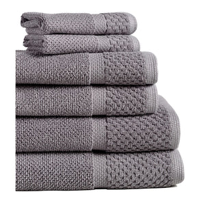 Grey Diplomat Hotel Towels and Washcloths