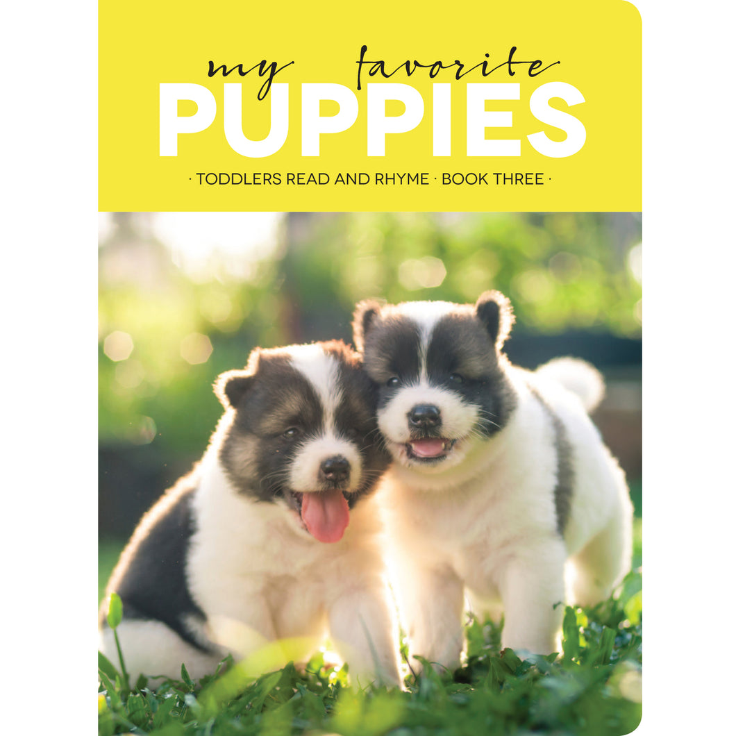 Faith View Creations My Favorite Puppies Board Book 4189