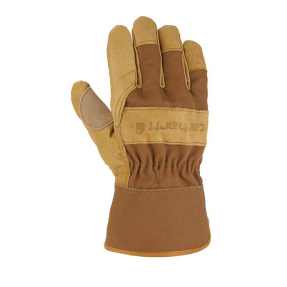 Carhartt Leather Work Glove with Safety Cuff A518