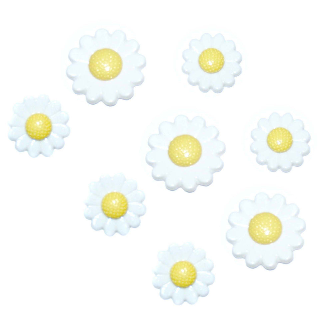 Dress it Up Buttons Daisies 27