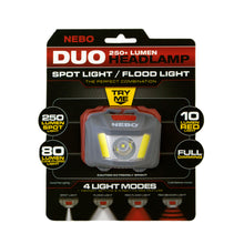 DUO Headlamp in package.