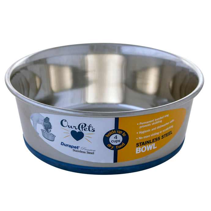Durapet Stainless Steel Dog Bowl.