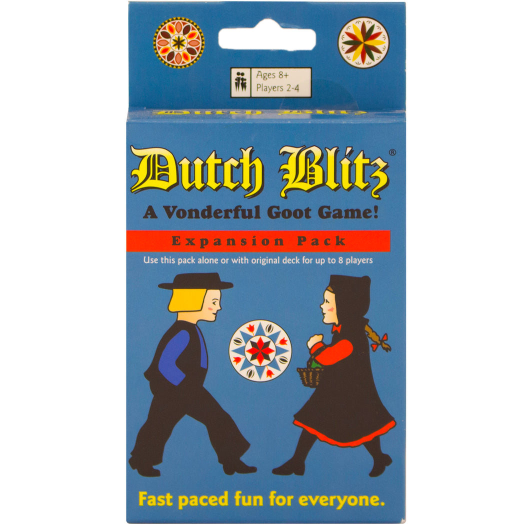 Expansion cards for Dutch Blitz.