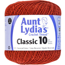 Russet Aunt Lydia's crocheting thread.