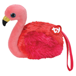 Flamingo mini-purse