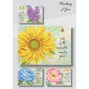 Thinking of you flower cards