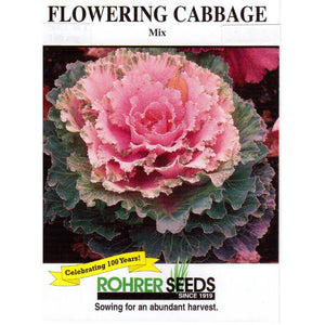 Flowering Cabbage mix seed pack