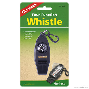 Whistle compass combination