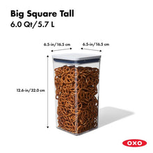 Big Square Tall POP Container 11233400