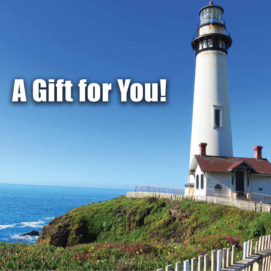 Good's Store Gift Card in Lighthouse Holder