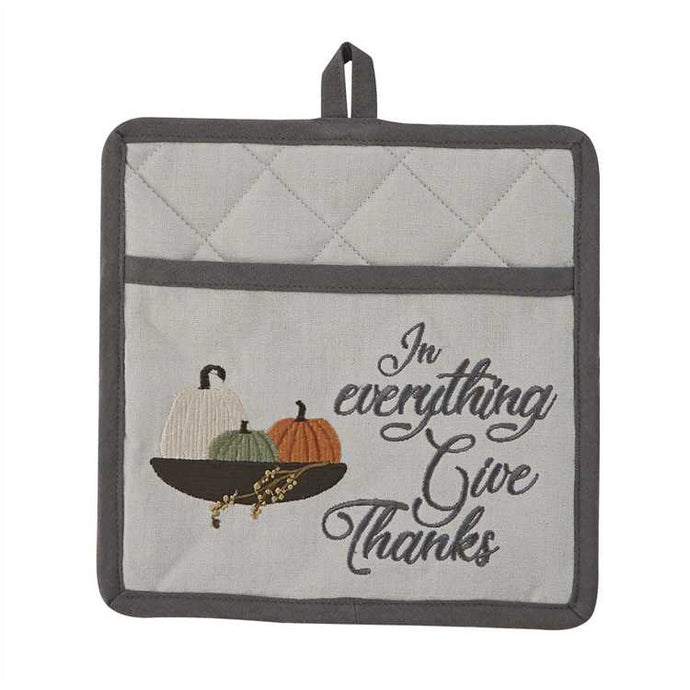park designs in everything give thanks potholder pick of the patch collection