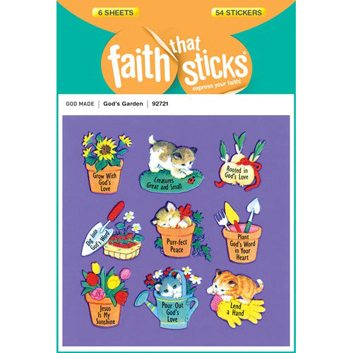 God's Garden stickers