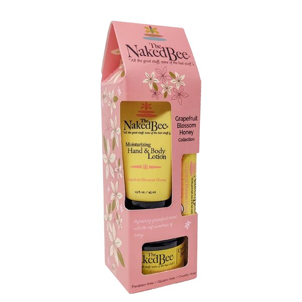 The Naked Bee Grapefruit and Honey Gift Set