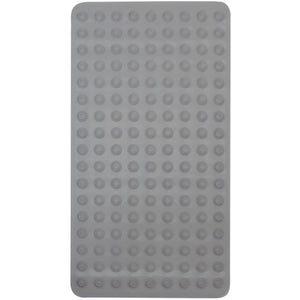 Gray rubber mat for tub.