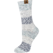Gray crew socks for women