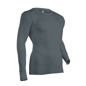 Gray thermal undershirt