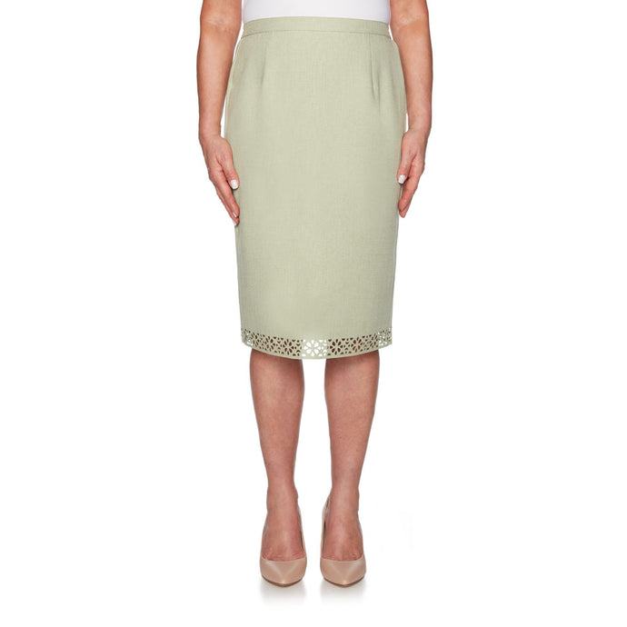 Ladies skirt, green