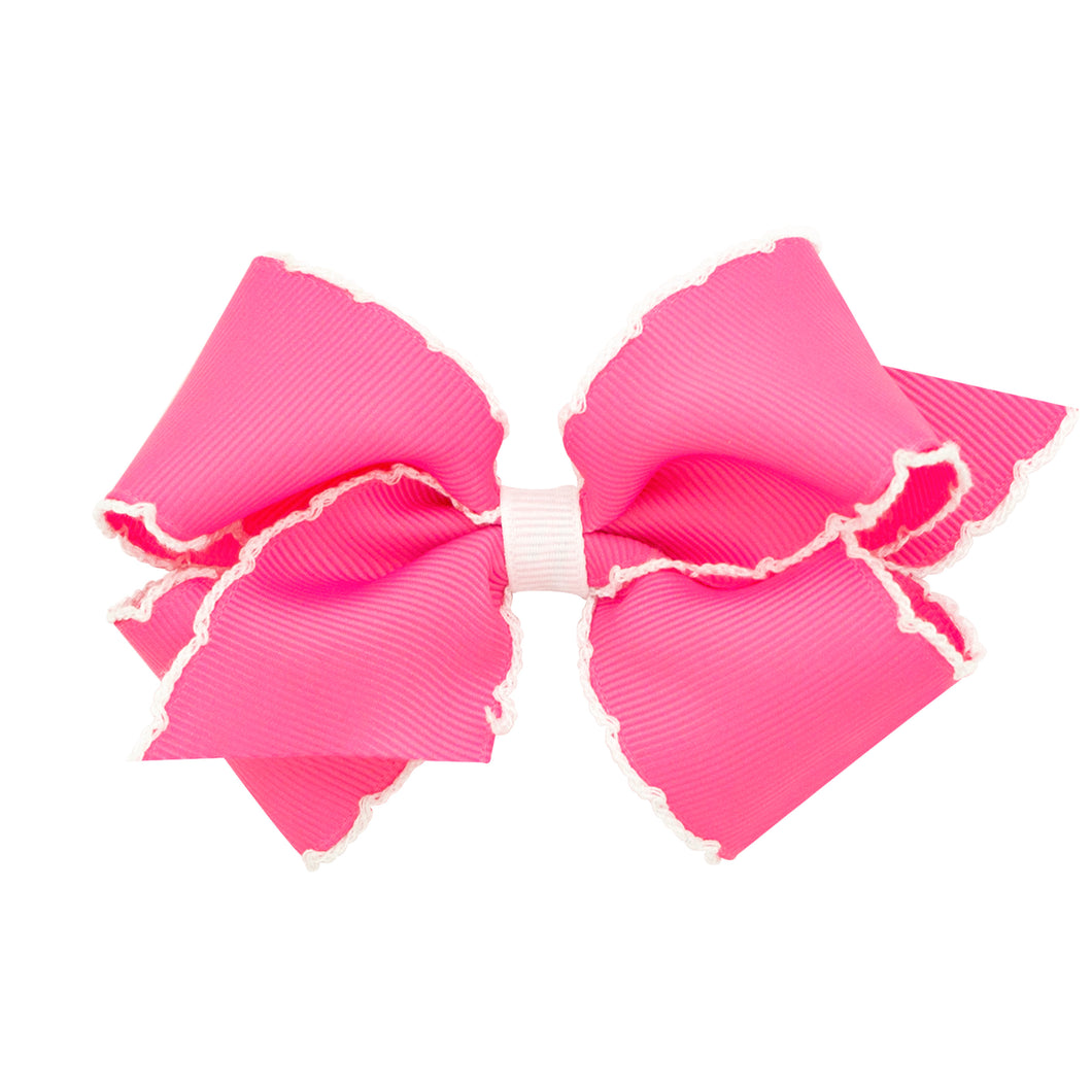 Wee Ones Moonstitch Hair Bow 2977 Good S Store Online