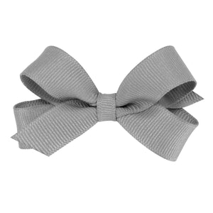 Gray hair bow