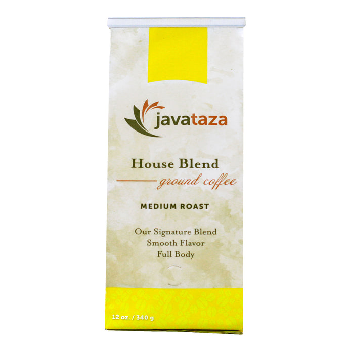 Javataza House Blend ground coffee